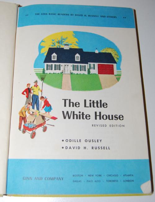 Ginn the little white house vintage reader 1