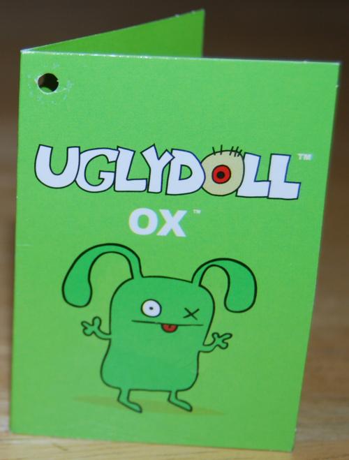Uglydolls ox book