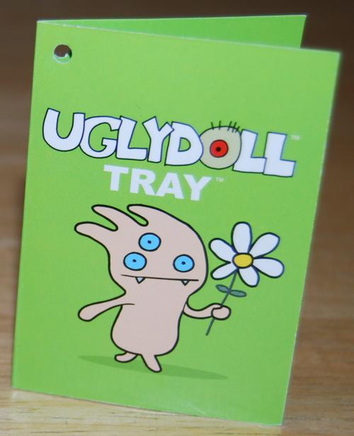 Uglydolls tray book