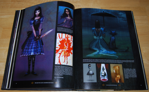 The art of alice madness returns book 3