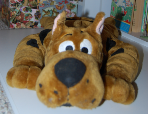 Scooby doo plush toy
