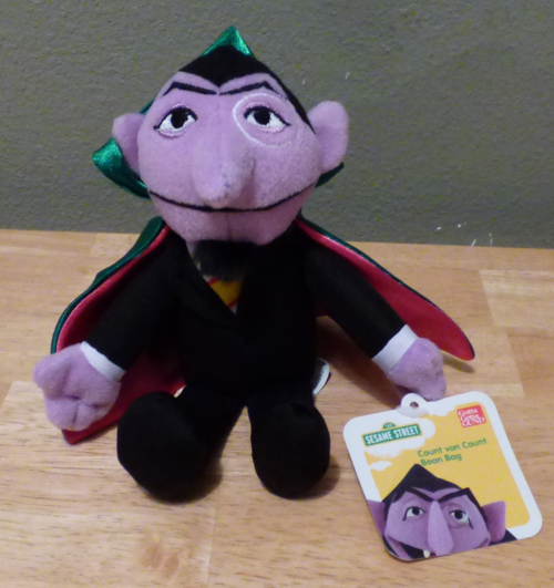 Sesame street the count plush
