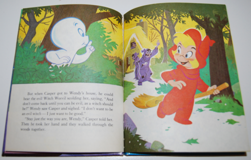 Casper & wendy vintage wonder book 3