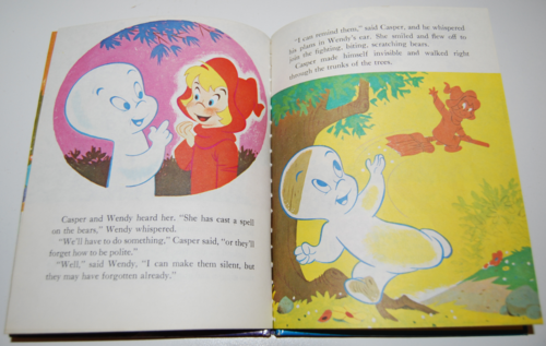 Casper & wendy vintage wonder book 4