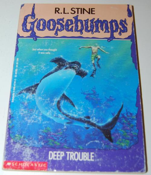 Goosebumps scholastic books 7