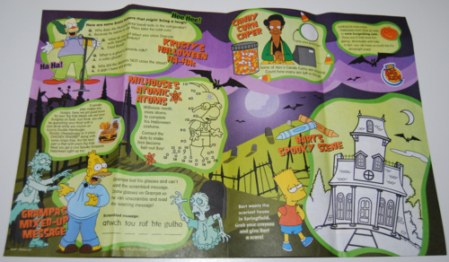 The simpsons spooky adventures bk toys 1