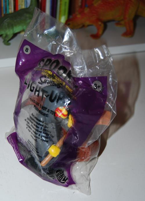 Bk simpsons spooky light up halloween toys 8