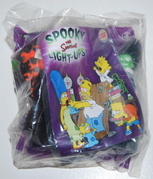 Bk simpsons spooky light up halloween toys 10x