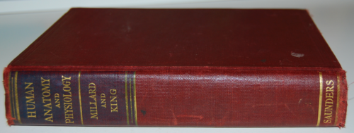 Vintage human anatomy & physiology book