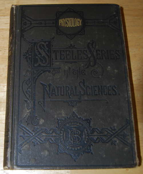Steeles series vintage physiology book