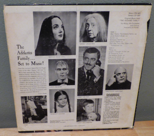 The addams family lp x