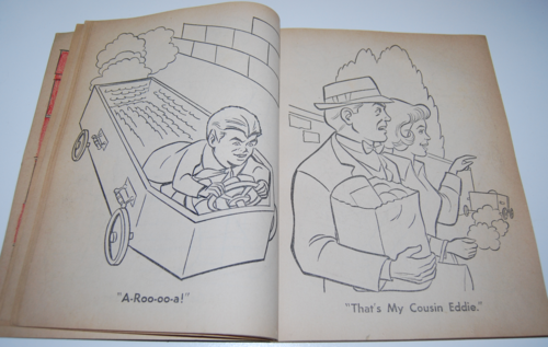 The munsters whitman coloring book 5