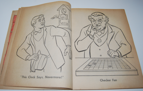 The munsters whitman coloring book 6