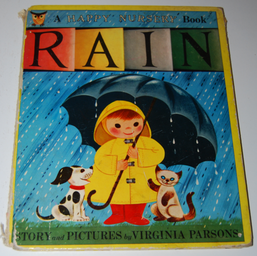 Rain book by virginia parsons