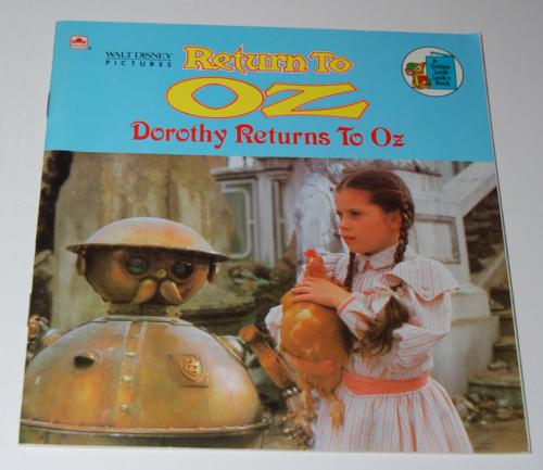 Return to oz book