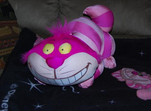 Big fat cheshire cat plush toy 3