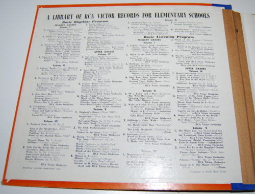 Rca victor vinyl 78s singing games for primary grades 1