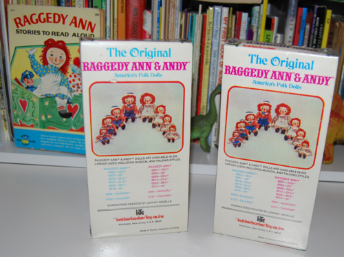 Vintage knickerbocker raggedy ann & andy 1