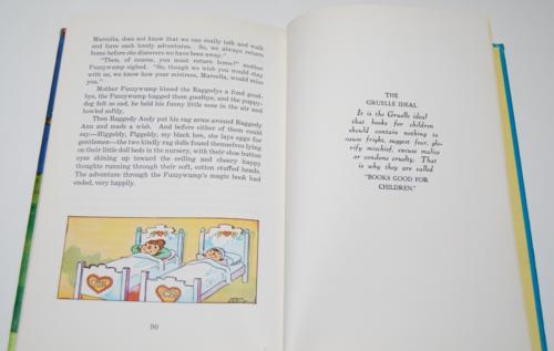 Raggedy ann in the magic book 9