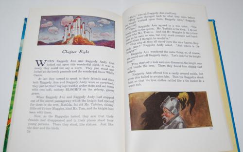 Raggedy ann in the snow white castle 13