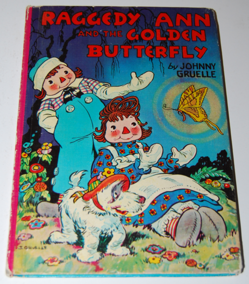 Raggedy ann & the golden butterfly