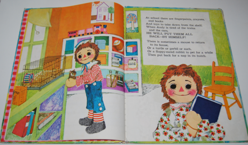 Raggedy andy book 3