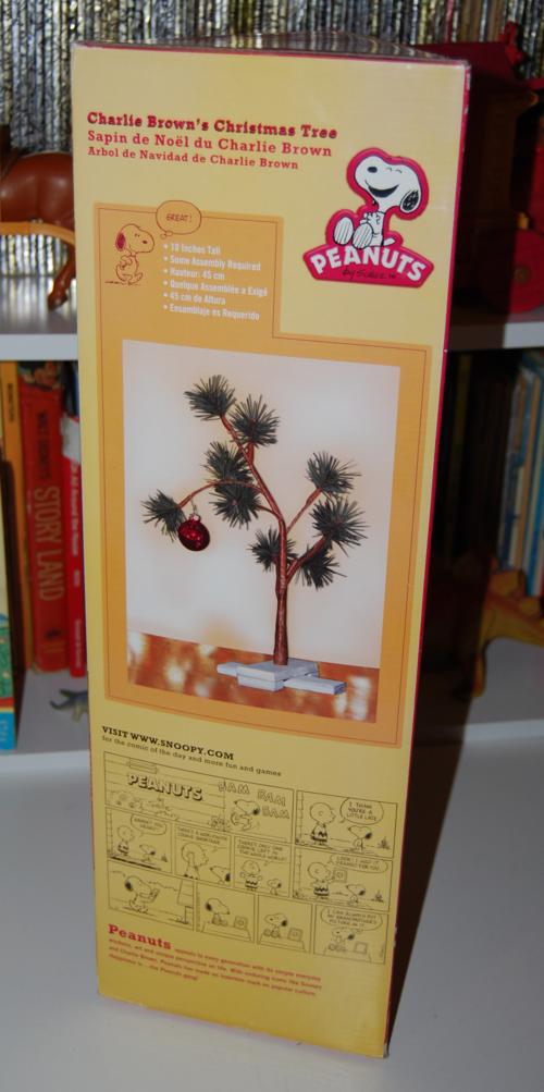 Charlie brown's xmas tree