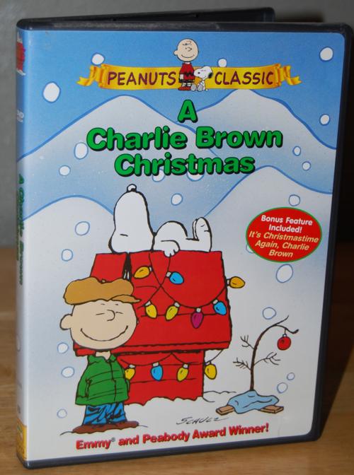 Charlie brown xmas dvd