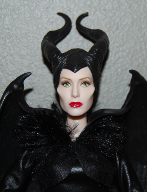 Winged fairy maleficent doll 4