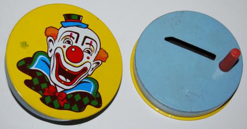 Vintage tin noisemakers 1