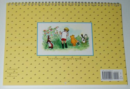 Winnie the pooh 1999 calendar x