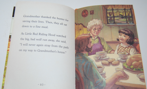 Little red riding hood silver penny stories 8