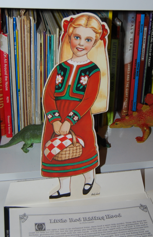 Little red riding hood paper dolls 7