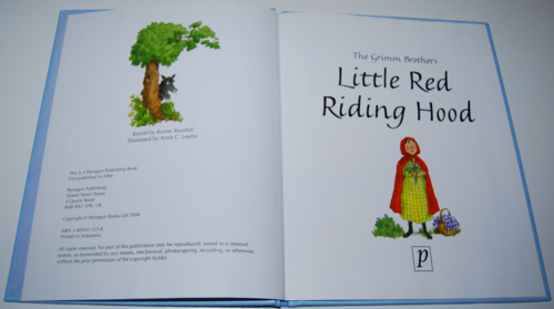Little red riding hood paragon books 1
