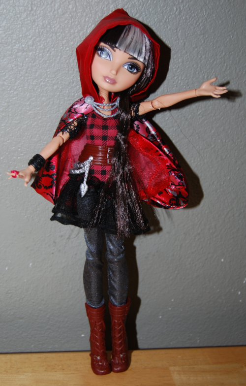 Ever after doll cerise hood 6