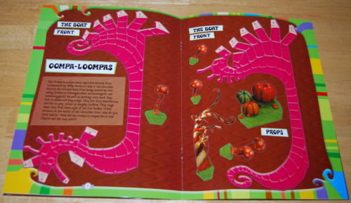 Charlie & the chocolate factory activity book 3