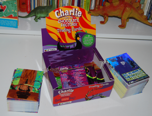 Charlie & the chocolate factory cards