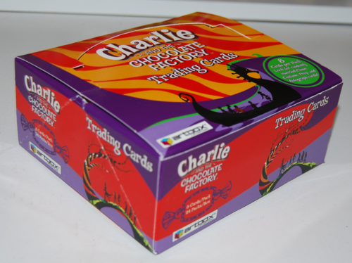 Charlie & the chocolate factory cards 2