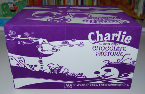 Charlie & the chocolate factory sticker making set 11