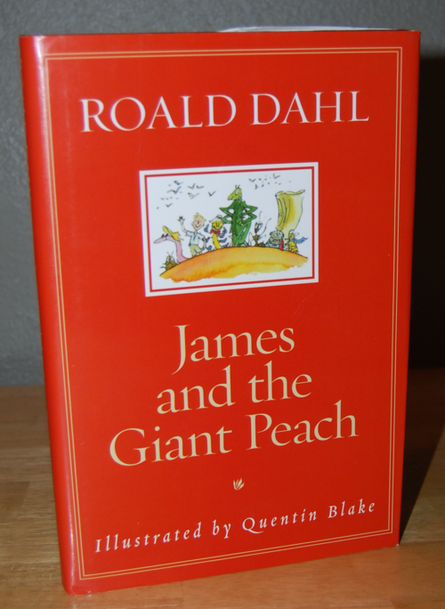 Roald dahl books james & the giant peach