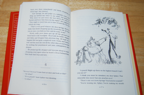 Roald dahl books james & the giant peach 2