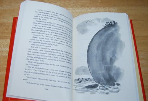 Roald dahl books james & the giant peach 4
