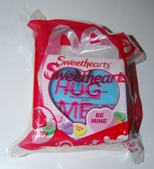 Sweethearts plush happy meal toy 2