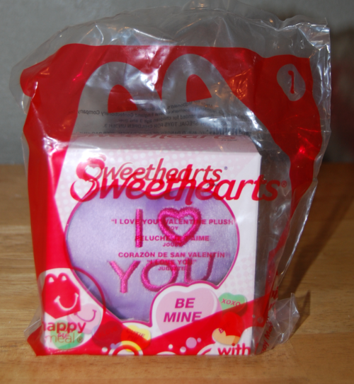 Happy meal sweethearts plush toys