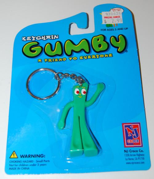 Gumby keychain moc nj croce 2002 5