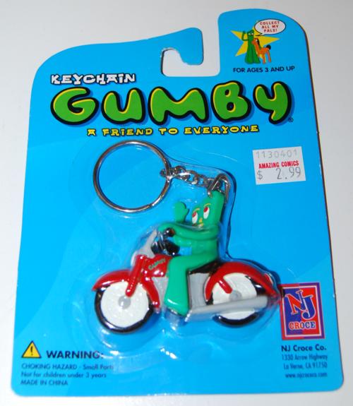 Gumby keychain moc nj croce 2002 3