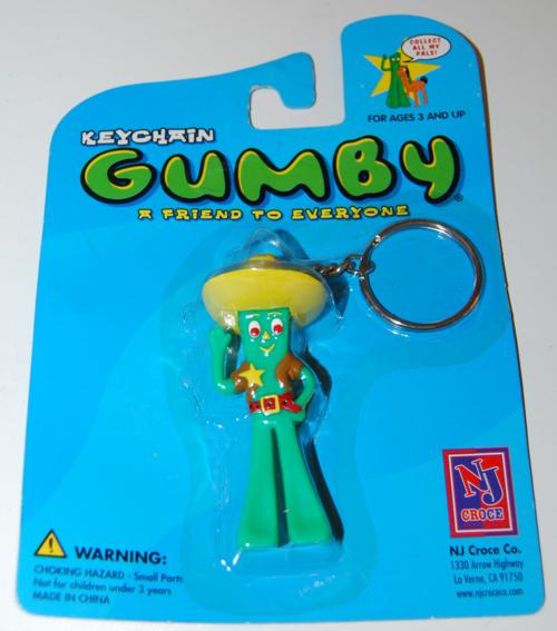 Gumby keychain moc nj croce 2002 4