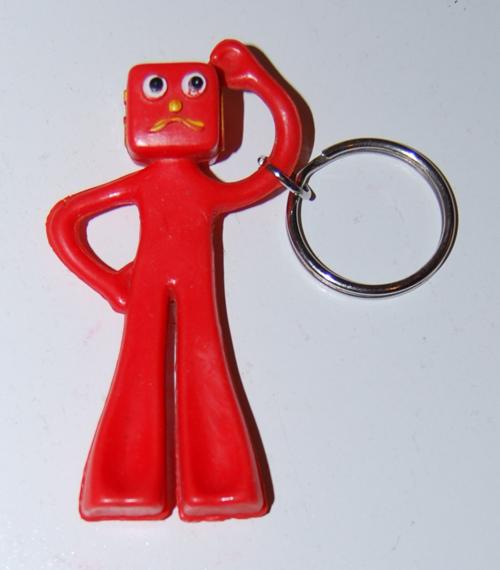1987 blockhead keychain x