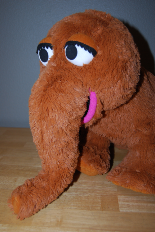 Mr snuffleupagus plush 3