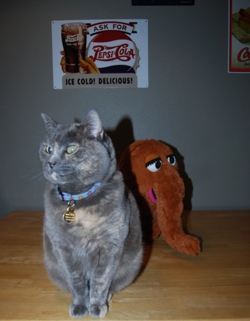 Mr snuffleupagus plush 7